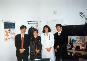 С представители на фирма Анна 1991-2