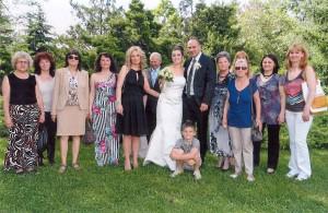 Сватбата на Цвети Бабулина 2012