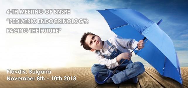 """PEDIATRIC ENDOCRINOLOGY: FACING THE FUTURE"""